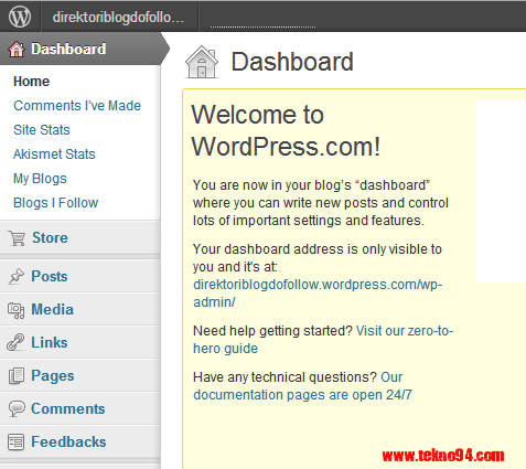 Cara Membuat Blog Gratis di WordPress.com, Cara Membuat Blog di WordPress Gratis, Cara Membuat Blog WordPress Gratis, Cara Membuat Blog WordPress Untuk Pemula